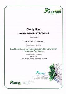 Certyfikat-garden-pixel-A